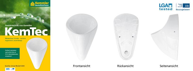 kemtec urinal 6000 trockenurinale kemtec sanit rtechnik von kemmler kompetenter partner. Black Bedroom Furniture Sets. Home Design Ideas